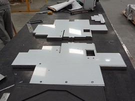 Corte e Dobra em Aço Inox 1- Cal Metal