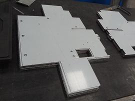 Corte e Dobra em Aço Inox 2  - Cal Metal