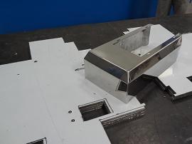Corte e Dobra em Aço Inox 3 - Cal Metal