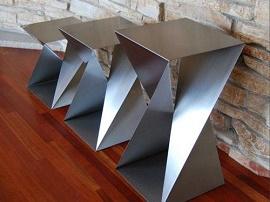 Peças em Inox Escovado - Cal Metal