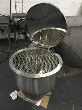 Serviço de Caldeiraria em Aço Inox 2  - Cal Metal