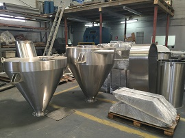 Tanques em Aço Inox - Cal Metal